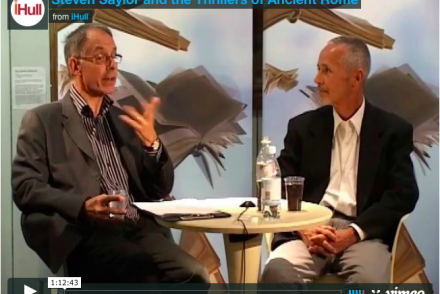 Martin Goodman interviews Steven Saylor